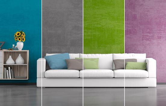 Wandfarben die zu grun passen