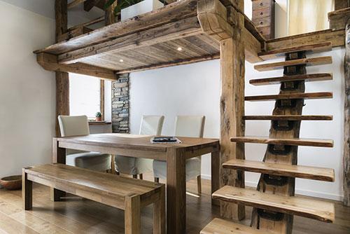 Styl rustykalny drewno we wn trzu home invest deweloper nowe mieszkania na sprzeda - Soppalco in legno autoportante ...